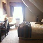 Our original room, 7th floor, too hot!