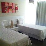 Apartamento 203 jardim - quarto