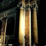Inside the basilica/frigidarium