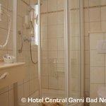 Badezimmer im Doppelzimmer Comfort Ahrseite