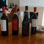 wines awaitng tasting 2