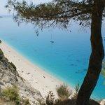 Eggremni Beach, Lefkada, Greece