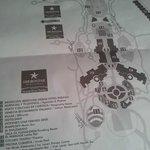 le plan de l'hôtel