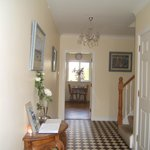 Portumna House B&B entrance hall