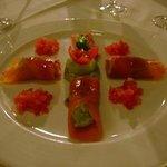 Smoked Salmon & Avocado mousseline