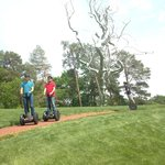 """Segways by the Roxy Paine """"Ferment"""""""
