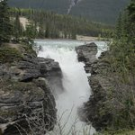 Athabasca Falls From Viewpoint