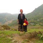 s Kieu and daughter