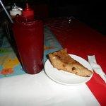 Dinner - Bread pudding dessert