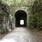 MKT railroad tunnel, Rocheport, MO
