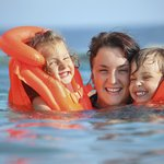 Family Baywatch a 2 hour course learning a little of what it takes to become a beach lifeguard!