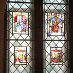 Hohenzollern Castle - 12th Century Stained Glassed Chapel Windows