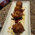 Corn Fritters - excellent!
