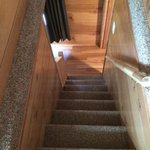 Deluxe cabin staircase