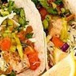 Yummy fish tacos