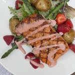 Farmer's Market Special Copper River Salmon Salad