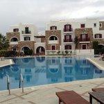 Het prachtige zwembad van Naxos Resort