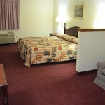 Mini suite,King size bed