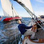Sailing, Newport, Rhode Island by Onne van der Wal