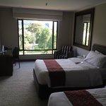 Habitación muy cómoda.