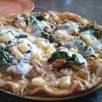 West Indian Curry Chicken Pizza