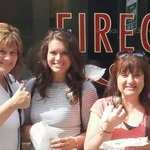 Girls at Firecakes!