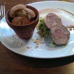 confit duck, ham hock and foie gras terrine