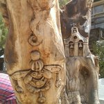 One of many carvings.