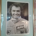 I was able to admire Le Mans 24hr driver Jochan Mass at breakfast :-)