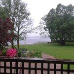 View from veranda in room