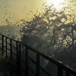 Sunset on the Breakwater