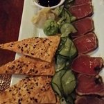 seared ahi tuna app!  *****