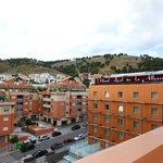 Blick von der Dachterrasse vom Hotel Macia Real Granada