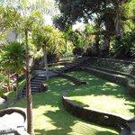 De tuin van het museum