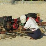 fishing boat-motor repair