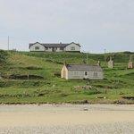 Suainaval from the beach (upper house)