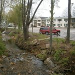 Another Exterior View - Small Stream Next to Hotel