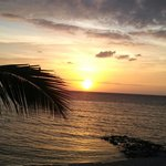 Goodnight sun..the sunsets at Secrets Aura are amazing