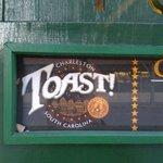 Toast sign
