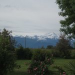 The view of the Pyrenees from my room