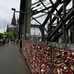 Ponte Hohenzollern.