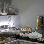 Cereals and baked goodies