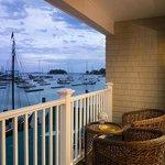 Waterfront Deluxe Guestroom Balcony View