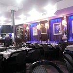 L'interno del ristorante Villa Verdi