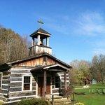 Church in the wide blue sky