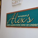 Alex's Restaurant - Reception