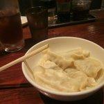 Boiled gyoza 2