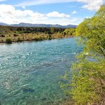 Clutha River on Walk Trail on property