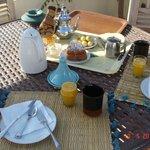 1er Petit Déjeuner au coq Fou - un régal chaque matin!