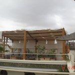 Terrasse du Coq Berbere - les 2 riads communiquent par les terrasses
